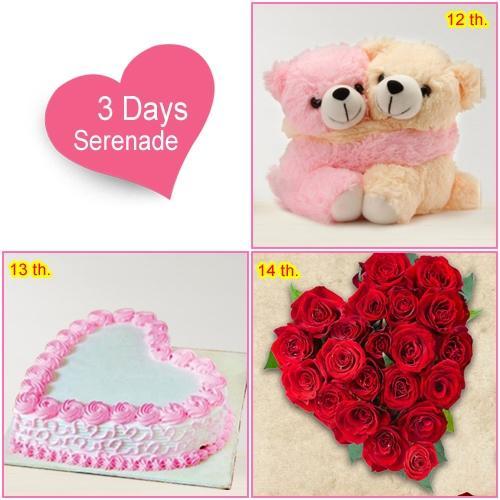 Send 3-Day Sernade Hamper for Valentines Day