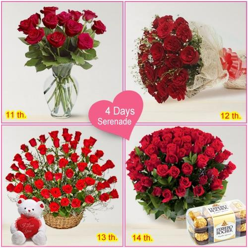 Book Online 4 Day Serenade Gifts for Lady Love