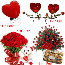 Lovely 4-Day Serenade Surprise for Valentines Day