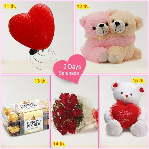 Send Exclusive 4-Day Serenade Hamper for Her