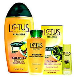 Exclusive Hair Therapy Pack from Lotus for Women