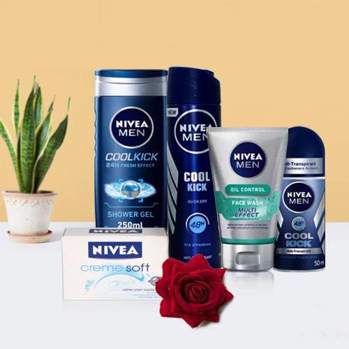 Shower Hour for Men with Nivea Gift Hamper for Men