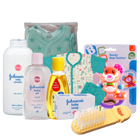 Graceful New Born Baby Care Gift Kit from Johnson