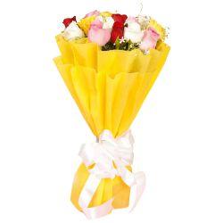 Eternal Ecstasy Mixed Roses Premium Bouquet