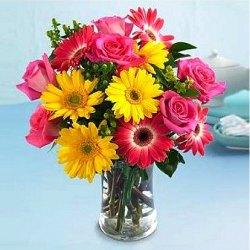 Fragrant Embracing Pureness Flower Arrangement