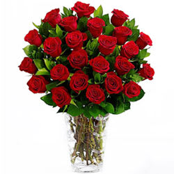 Online Bouquet of Red Roses with Cake, Assorted Cadbury N Teddy