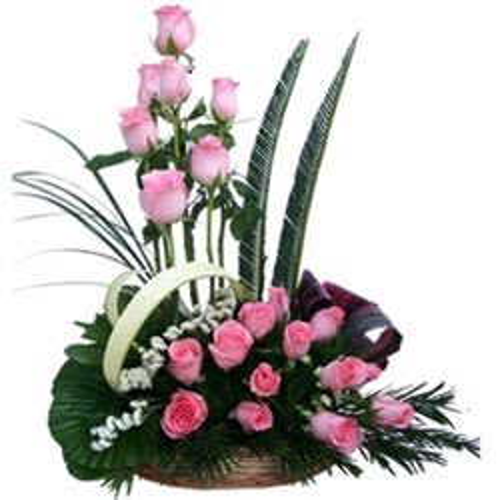 Order Online Kiwi Cake N Mixed Flowers Bouquet