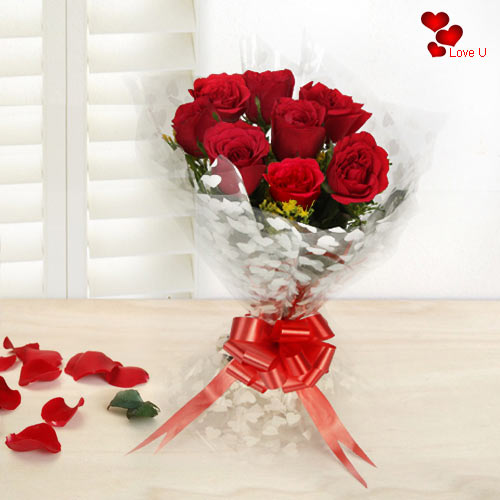 Book Online Red Roses Bouquet