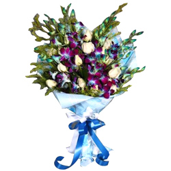 Radiant Orchids Bouquet