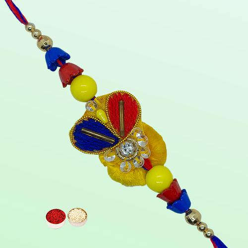 Mesmerizing Rakhi with Affectionate Love
