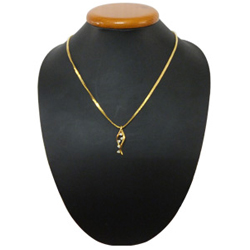 Astonishing Rhinestone Boat Necklace from The House of Avon