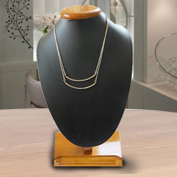 Astonishing Rhinestone Boat Necklace from The House of Avon