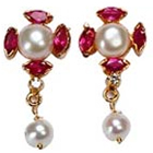 Stunning Pearl Earrings