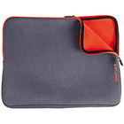 Grey and Orange Laptop Sleeve Backpack from Titan Fastrack