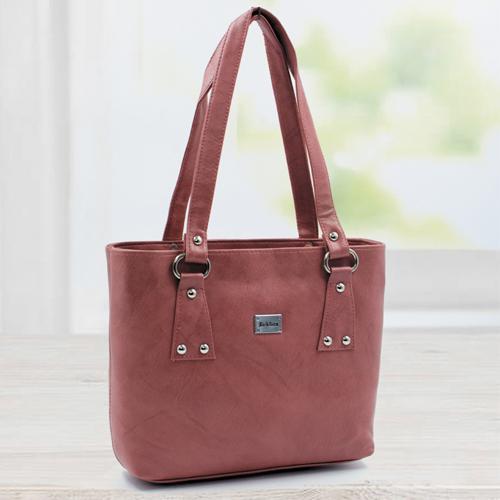 Appealing Coral Vanity Bag for Her