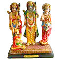 Idol of Ram, Lakshman And Sita with Hanuman