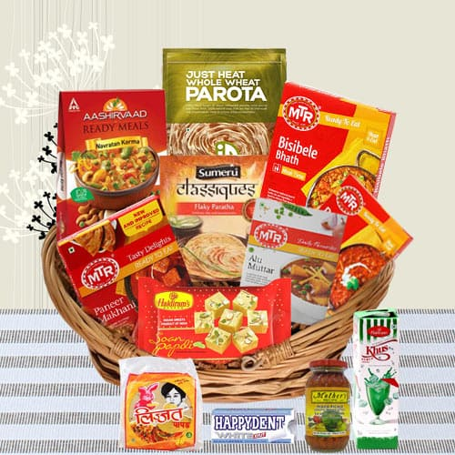 Perfect Socializing North Indian Dinner Gift Hamper