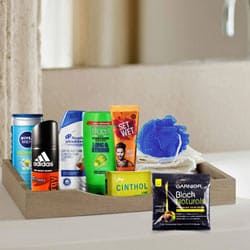 Lovable Men's Freshness Hamper