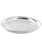 Pure Silver thali for Puja