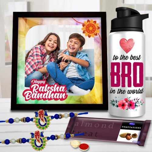 Bhaiya Special Personalized Rakhi Gift Hamper