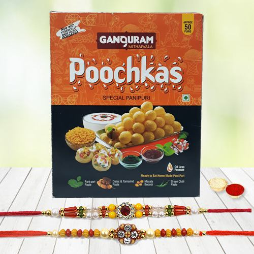Puchka/Golgappa/Pani PuriRakhi Gift