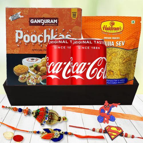 Puchka/Golgappa/Pani PuriRakhi Gift Basket