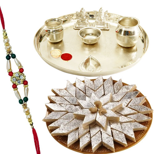 Stylish Rakhi Hamper filled with Happiness