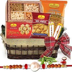 Lovely Wrapped Rakhi Hamper