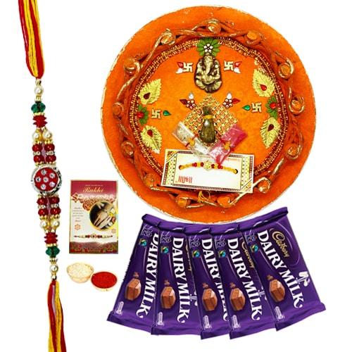 Opulent Rakhi Combo