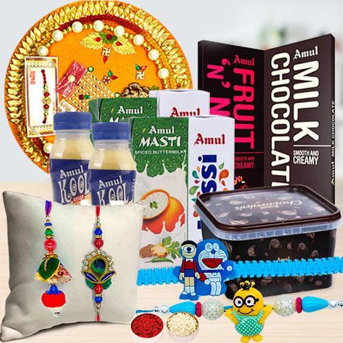 Amul Rakhi Gifts Hamper for Family