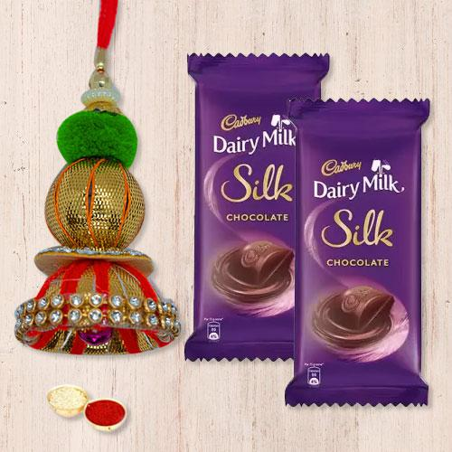 Designer Lumba with Cadbury Silk Chocolate