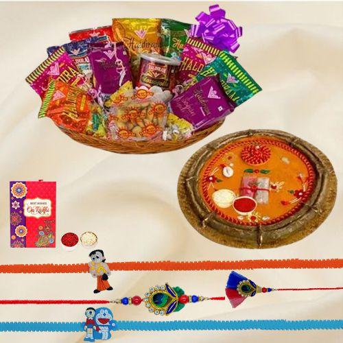 Haldirams Assortment Rakhi Gift for Family