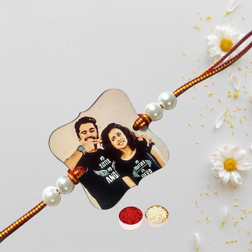 Fantastic Personalized Photo Rakhi
