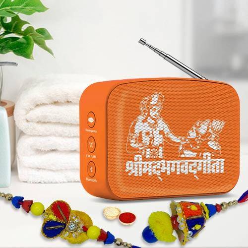 Bhaiya Bhabhi Rakhi Set with Saregama Music Player