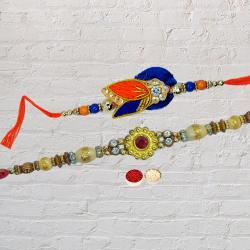 Amazing Rakhi Designed for Brother<br>