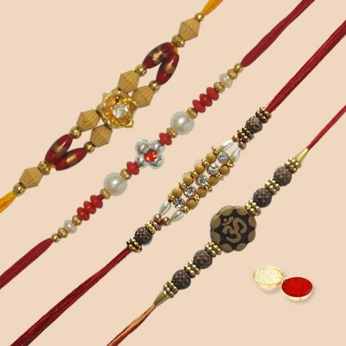 Refreshing Rakhi with Blissful Wishes