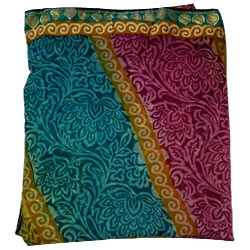 Amazing chiffon multicoloured Printed Saree