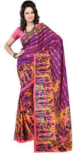 Voguish Soothe Georgette Saree