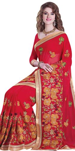 Robust Tussar Silk Saree