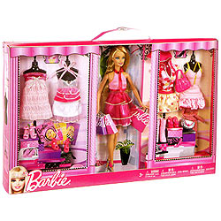 Barbie Doll Complete Fashion Gift Set Box