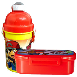 Wonderful Lunch Break Pokemon Pattern Tiffin Set