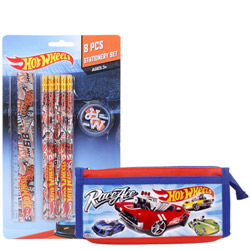 Marvelous Stationery Set with Hot Wheels Design