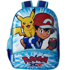 Outstanding Kids Delight Pokemon Blue Color School Bag