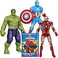 Superb Collection of Marvel Avengers Assemble Figurine Set N Spider Man Surprise Bag