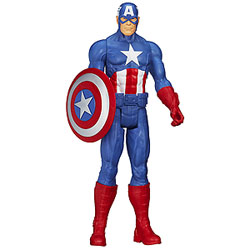 Splendid Marvel Avengers Captain America Action Figurine for Smart Kids