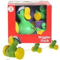Stirring Funskool Wiggler Duck and Bunny