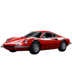 Enchanting Swiftness Ferrari Model Car from Bburago