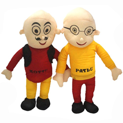 Lovable Motu Patlu Soft Toy