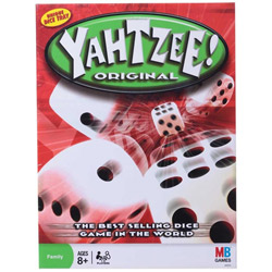 Original Funskool Yahtzee Dice Game