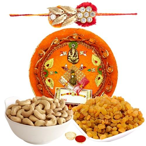 Incredible Rakhi Thali Assemblage